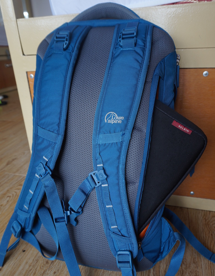 Best Travel Backpack for Long-Term Travel - Lowe Alpine AT Travel Trekker 70+30 - Nomad Travel - Hidden Pockets