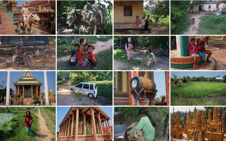 Living Like a Local in Cambodia - My Homestay Experience - the village