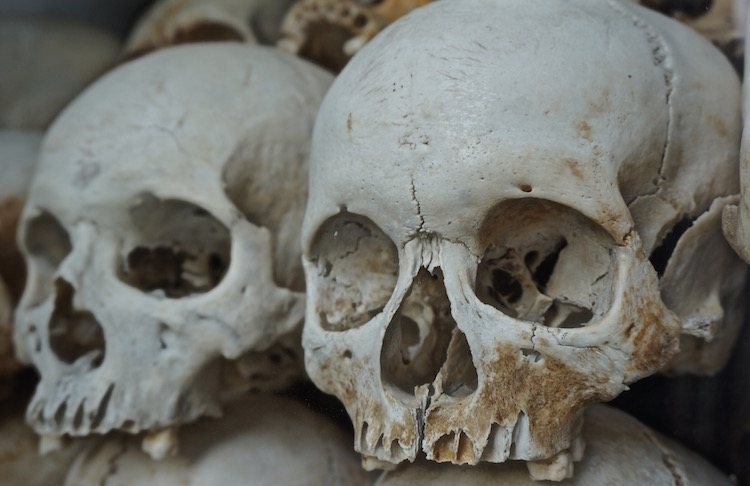 S21 and the Killing Fields - Human Skulls Found at the Killing Fields