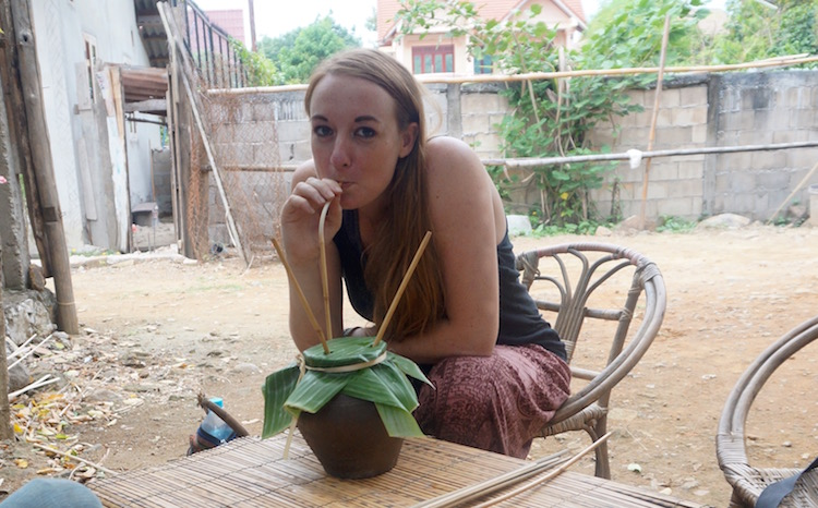 Backstreet Academy - Luang Prabang, Laos - Rice Wine Making - Tasting Rice Wine