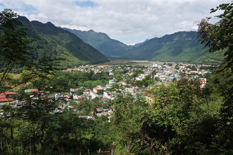Mai Chau Valley - Panoramic View