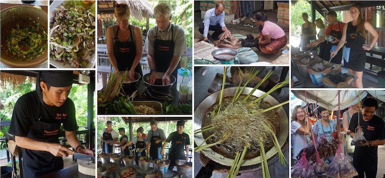 Responsible Tourism in Luang Prabang - Tamarind Cooking School with Sith