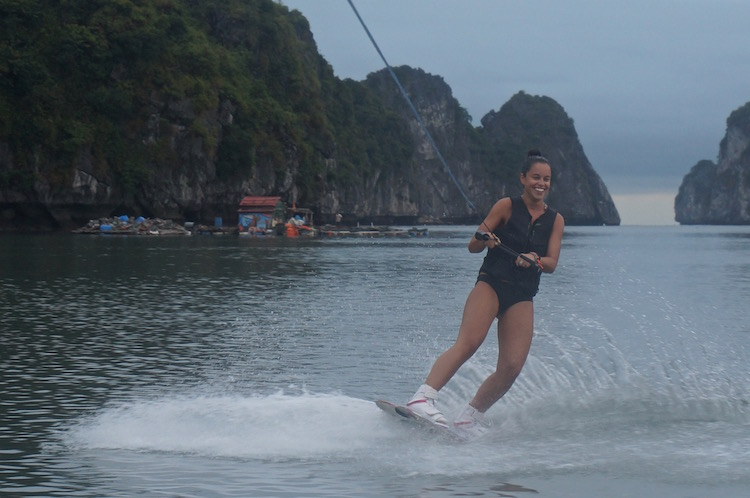 Vietnam Backpacker Hostels - Castaway Island Wakeboarding