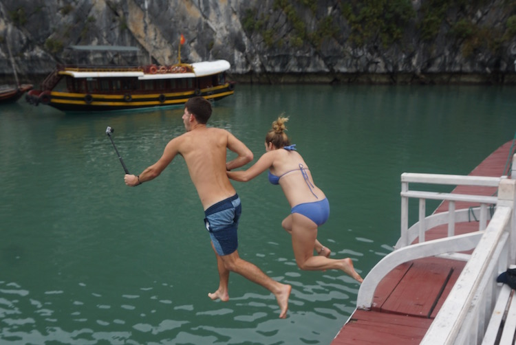 Vietnam Backpacker Hostels - Castaway Island Booze Cruise