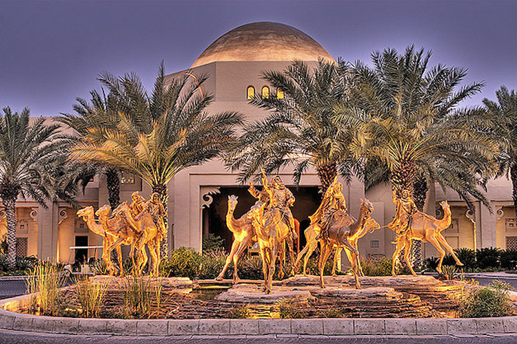 Adventure in Dubai - The Royal Mirage