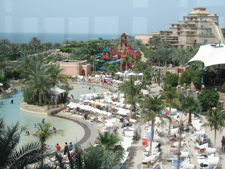 Adventure in Dubai - Aquaventure Water Park