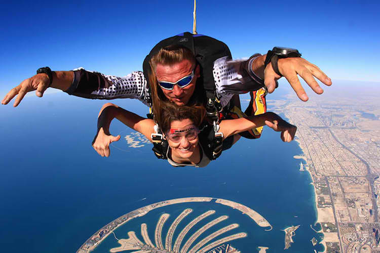 Adventure in Dubai - Skydive Dubai