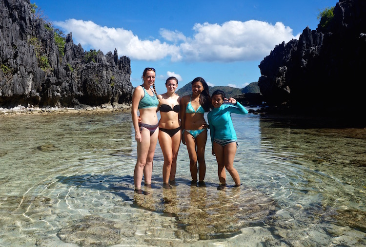 Island Hopping in El Nido - Hidden Beach
