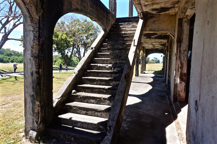 Corregidor Island Tour - Sun Cruises - Mile-Long Barracks