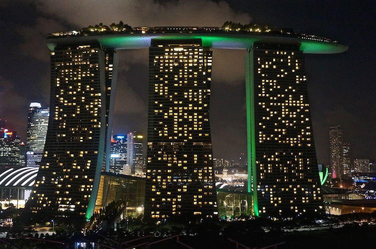 Top Attractions in Singapore - Marina Bay Sands Hotel