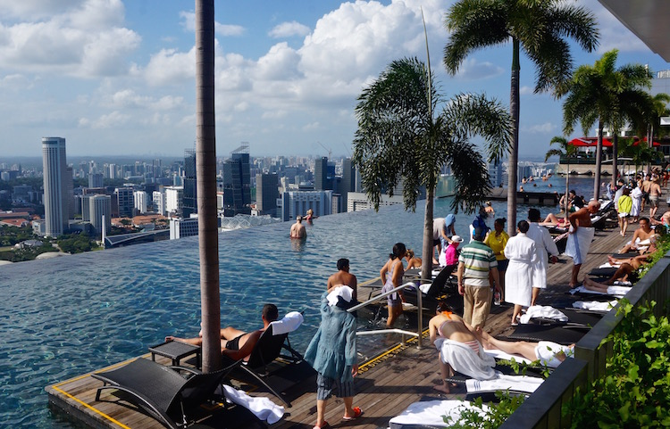 Infinity Pool at Marina Bay Sands - Singapore