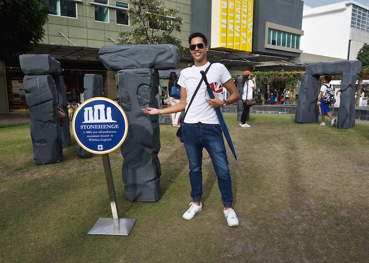Great British Festival in Manila - Stonehenge