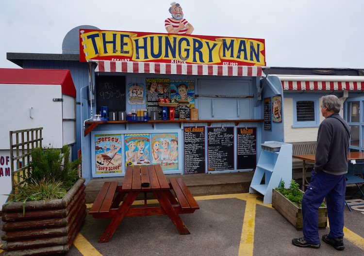 Reasons to Visit Jersey - The Hungry Man - Rozel Bay - Channel Islands
