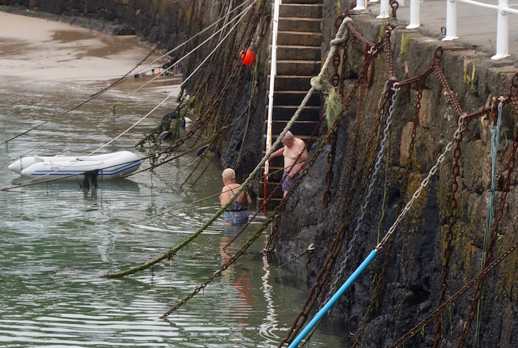 Reasons to Visit Jersey - Rozel Bay - Swimming - Channel Islands