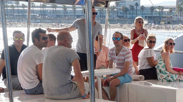 Barcelona Boat Party Stoke Travel