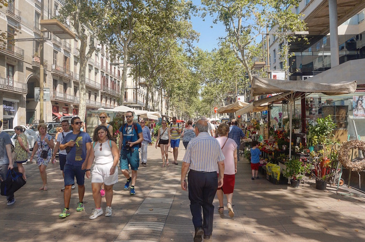 Barcelona on a Budget - Stoke Travel - City Break - La Rambla