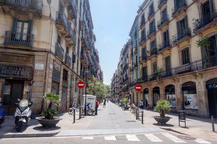 Barcelona on a Budget - Stoke Travel - City Break - Typical Barcelona Street