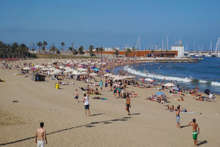 Barcelona on a Budget - Stoke Travel - City Break - Barcelona Beach
