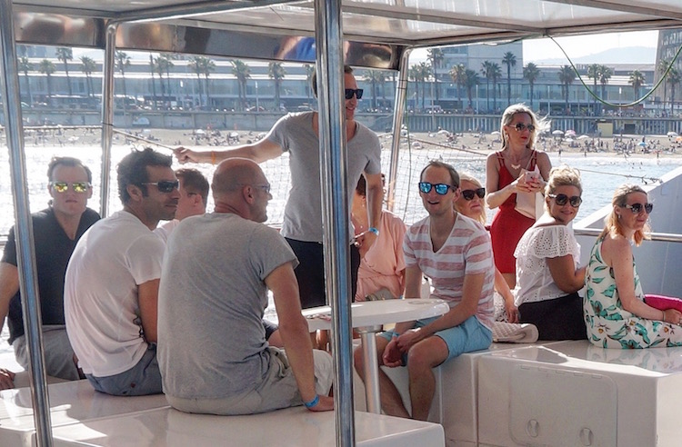 Where to Stay in Barcelona - Stoke Kastle - Stoke Travel - Boat Party