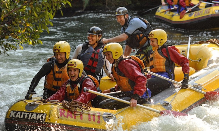 Packing Tips for Sporty Travellers - Consider Your Itinerary - Rafting in New Zealand