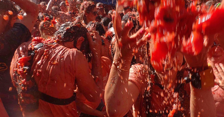 Best Festivals in Europe - La Tomatina - Stoke Travel