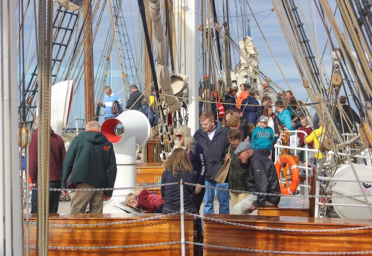 Tall Ships Regatta Blyth 2016 - Boat Exploration