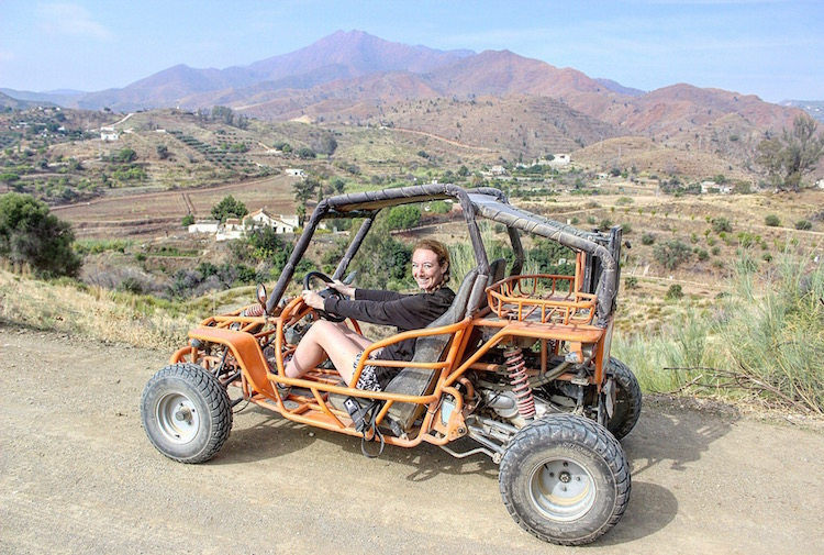 See the World on Wheels - Dune Buggying