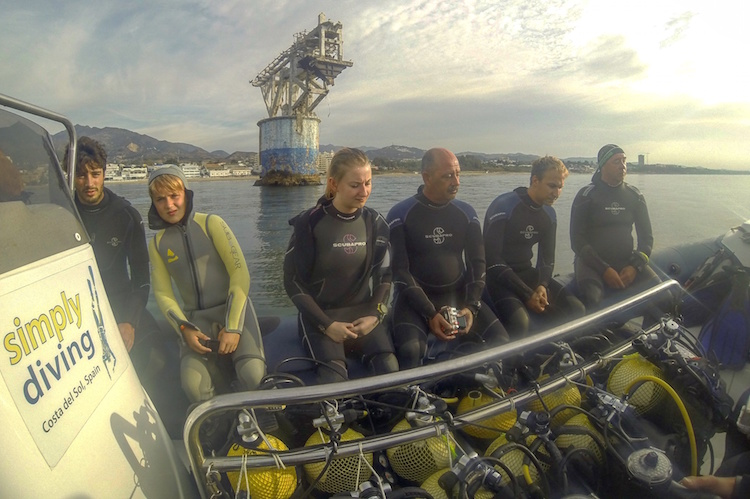 Things to do in Fuengirola - Simply Diving at the Tower in Marbella