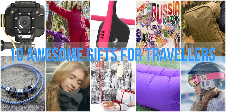 10 Awesome Gifts for Travellers. A selection of some of the most innovative and brilliant products on the market. Plus your chance to WIN a Fatboy Lamzac inflatable sofa!