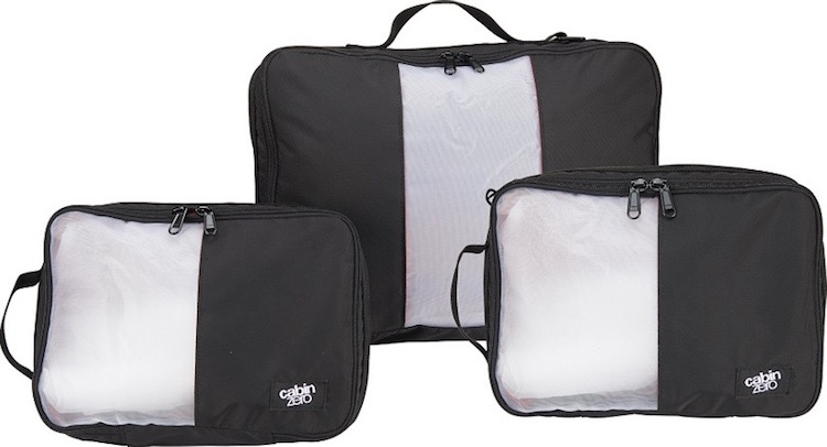 CabinZero Luggage Review - Packing Cubes