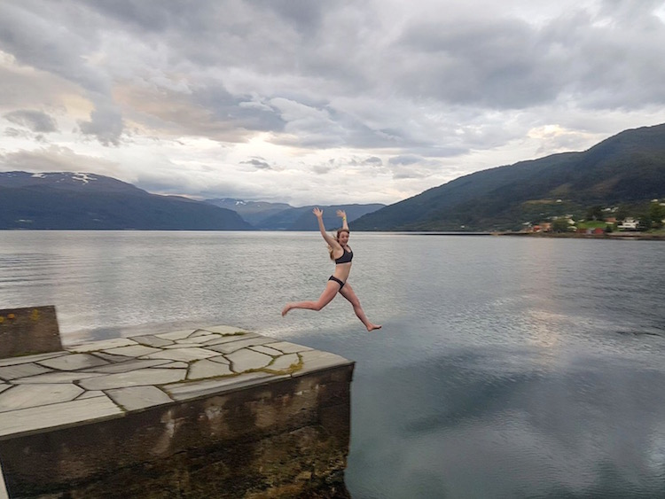 Western Norway - Weather - Fjord Swimming