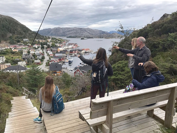 Western Norway - People - Guided Tour of Kalvag