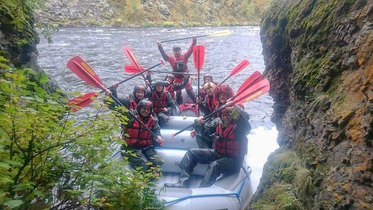 Autumn Adventure Activities in Kuusamo - White Water Rafting