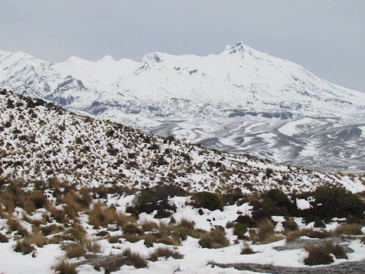 New Zealand itinerary - North Island - Ruapehu