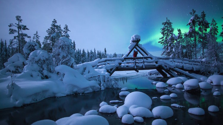 Glamping in Lapland: Hunt for the Northern Lights